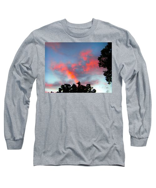 Brush Strokes Long Sleeve T-Shirt
