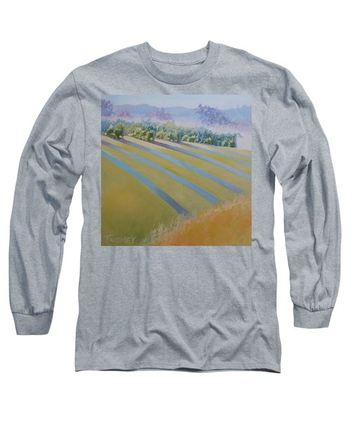 Buck Mountain Vineyards No.2 Long Sleeve T-Shirt by Catherine Twomey