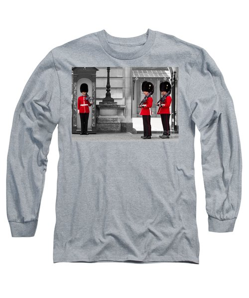 Buckingham Palace Guards Long Sleeve T-Shirt