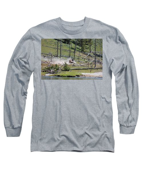 Buffalo Dust Bath Long Sleeve T-Shirt
