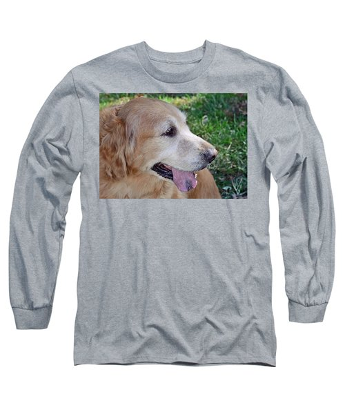 Long Sleeve T-Shirt featuring the photograph Buffie by Lisa Phillips