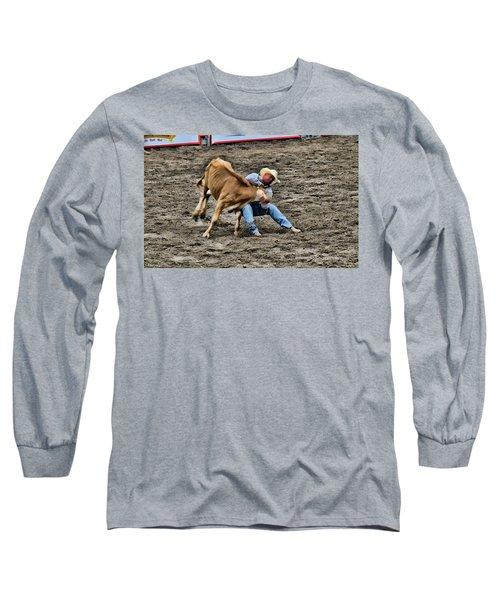 Bull Dogging Long Sleeve T-Shirt
