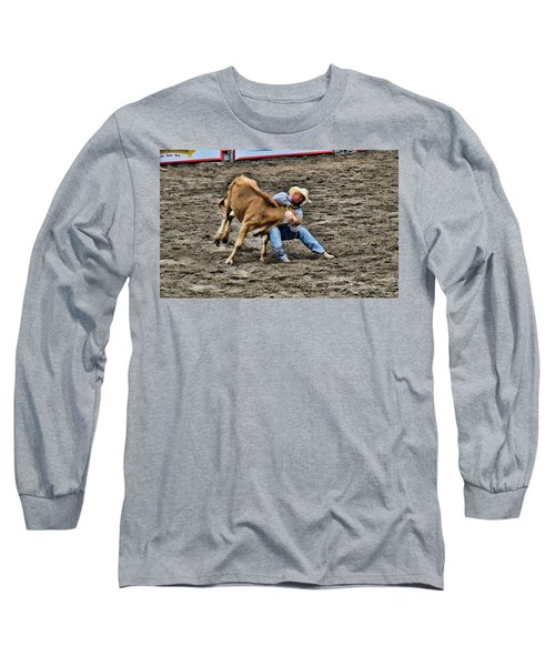 Bull Dogging Long Sleeve T-Shirt