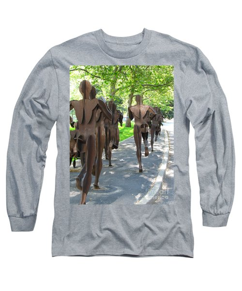 Buns Of Steel Long Sleeve T-Shirt