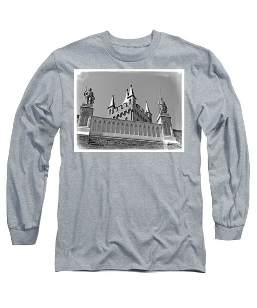 Long Sleeve T-Shirt featuring the photograph Burg Hohenzollern by Carsten Reisinger