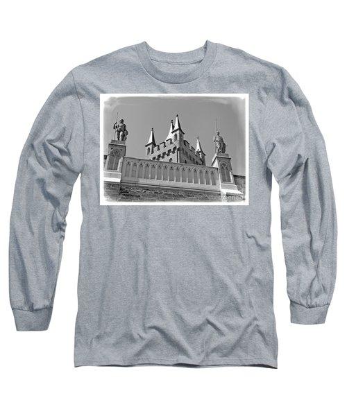 Burg Hohenzollern Long Sleeve T-Shirt by Carsten Reisinger