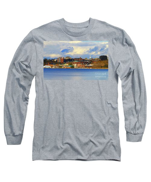 Burlington Vermont Lakefront Long Sleeve T-Shirt