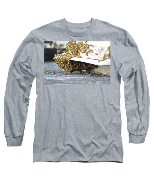 Busy Bees Long Sleeve T-Shirt by Laura Forde