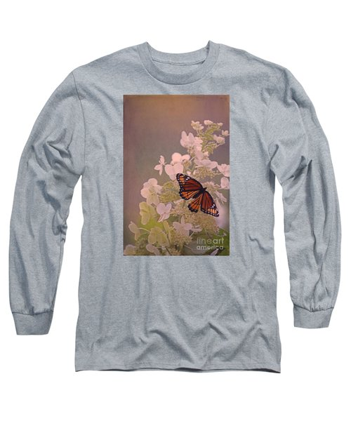 Butterfly Glow Long Sleeve T-Shirt