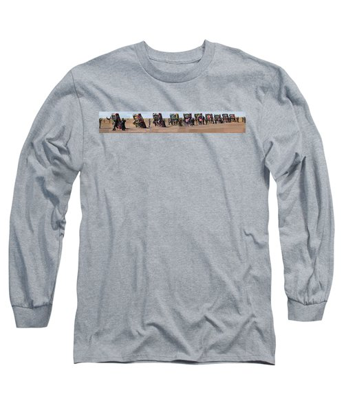 Cadillac Ranch Horizon Long Sleeve T-Shirt