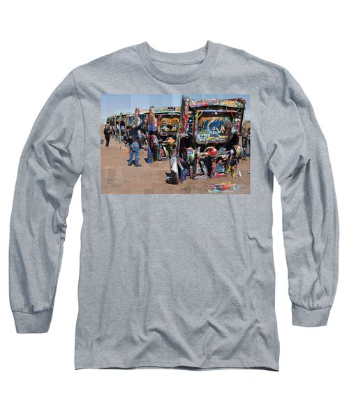 Cadillac Ranch Oblique Long Sleeve T-Shirt