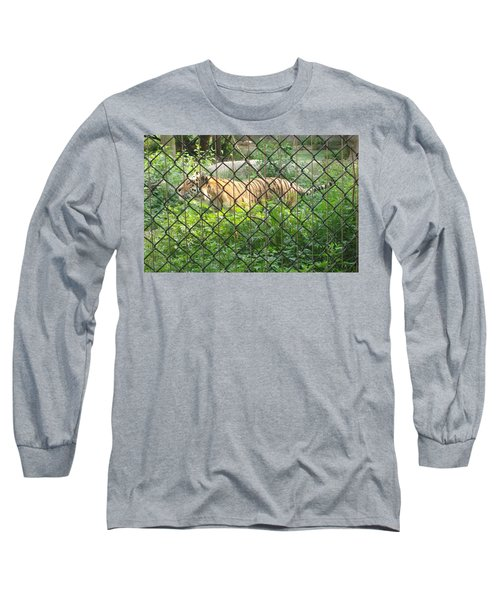 Long Sleeve T-Shirt featuring the photograph Caged by Fortunate Findings Shirley Dickerson