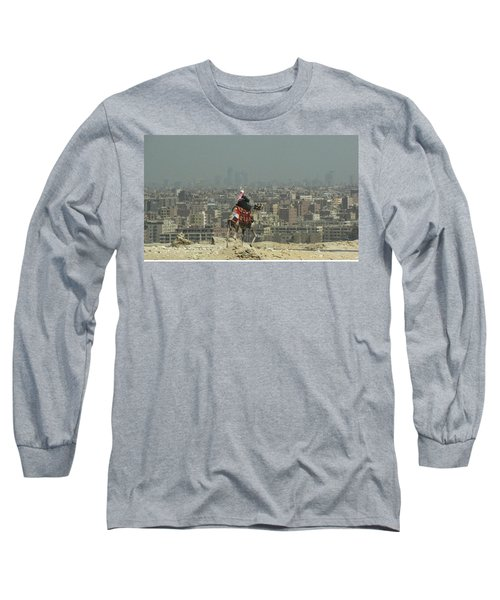 Cairo Egypt Long Sleeve T-Shirt by Jennifer Wheatley Wolf