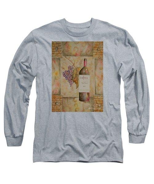 Calais Vineyard Long Sleeve T-Shirt by Tamyra Crossley
