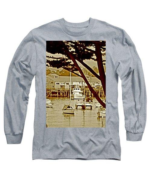 California Coastal Harbor Long Sleeve T-Shirt