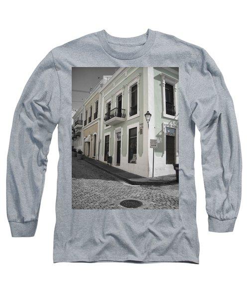 Calle De Luna Y Calle Del Cristo Long Sleeve T-Shirt