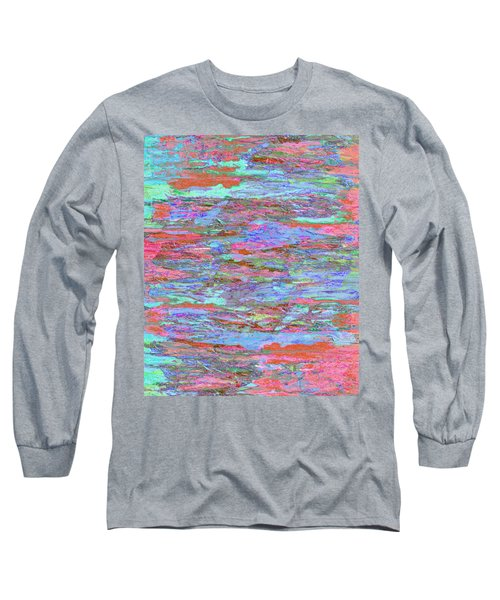 Long Sleeve T-Shirt featuring the digital art Calmer Waters by Stephanie Grant