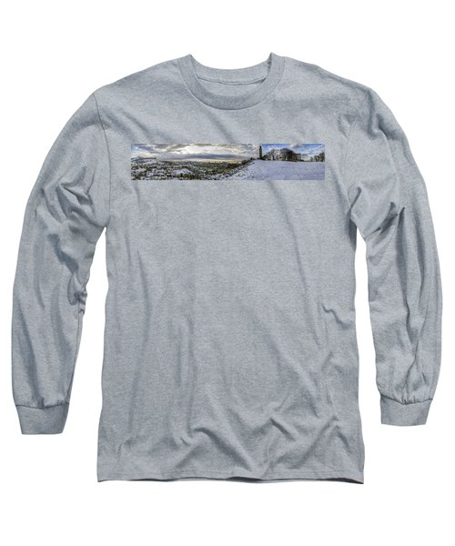 Calton Hill Panorama Long Sleeve T-Shirt