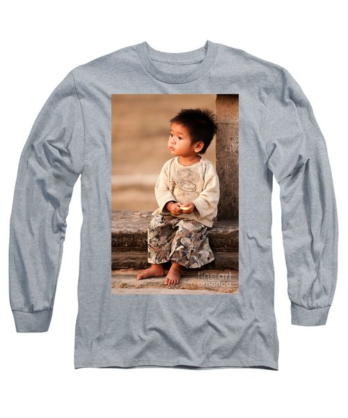 Cambodian Girl 02 Long Sleeve T-Shirt
