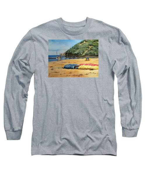 Camp Del Corazon  Long Sleeve T-Shirt by Lee Piper