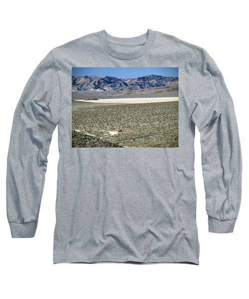 Camped At The End Of The Road Long Sleeve T-Shirt by Joe Schofield