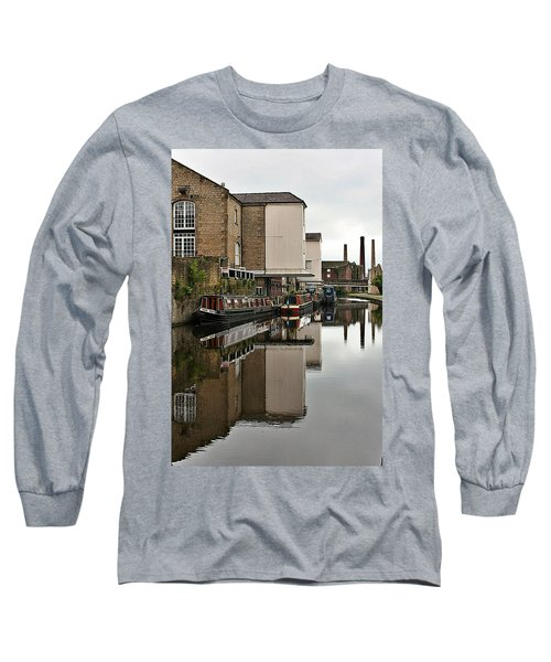 Canal And Chimneys Long Sleeve T-Shirt