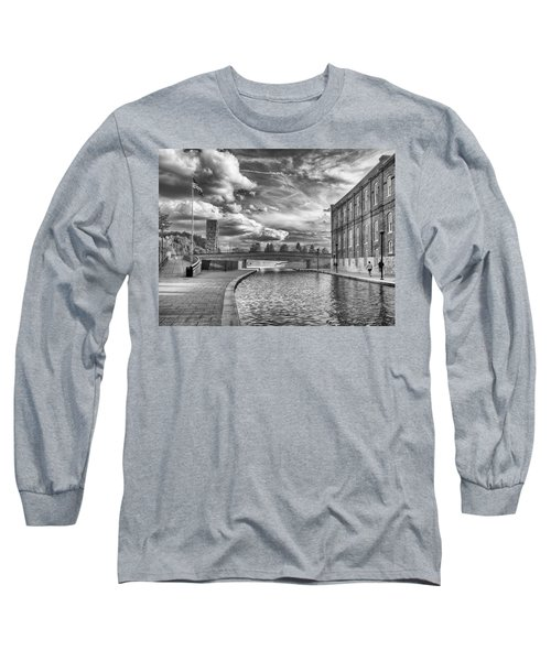 Canal Walk Long Sleeve T-Shirt by Howard Salmon