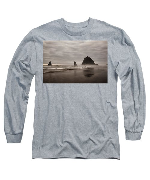 Cannon Beach Needles Long Sleeve T-Shirt