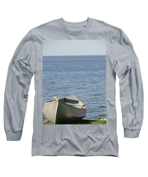 Long Sleeve T-Shirt featuring the photograph Canoe by Tiffany Erdman