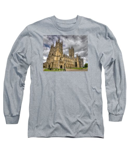 Long Sleeve T-Shirt featuring the photograph Canterbury Cathedral by Tim Stanley