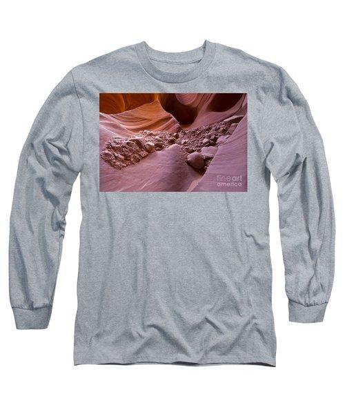 Canyon Rocks In Abundance  Long Sleeve T-Shirt