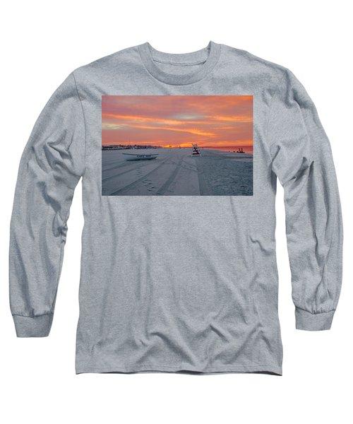 Cape May Seascape Long Sleeve T-Shirt