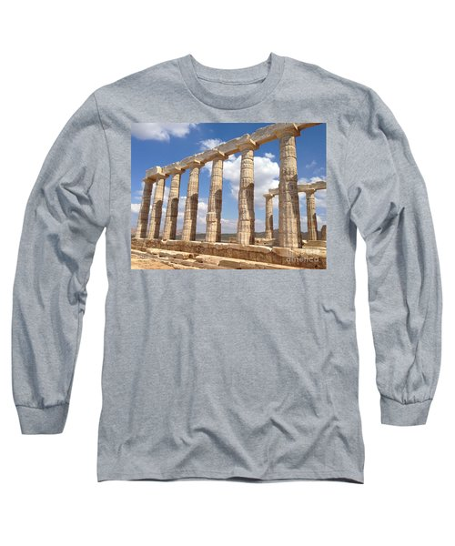 Cape Sounion Long Sleeve T-Shirt