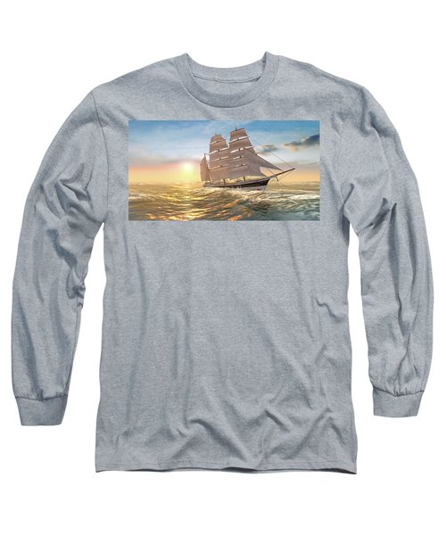 Captain Larry Paine Clippership Long Sleeve T-Shirt