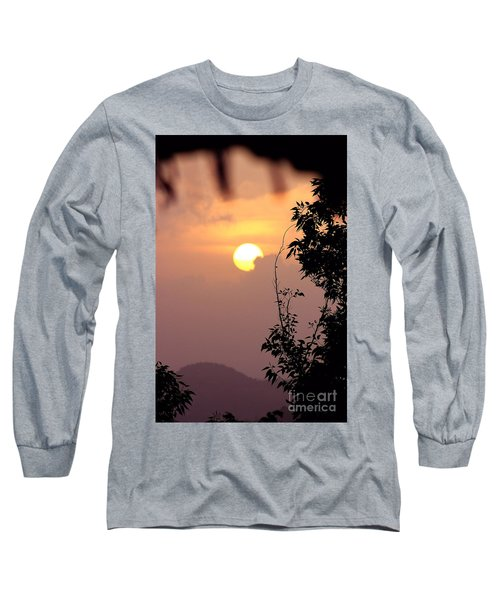 Caribbean Summer Solstice  Long Sleeve T-Shirt by The Art of Alice Terrill