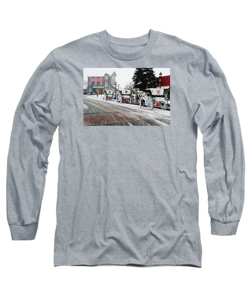 Long Sleeve T-Shirt featuring the photograph Carriage Ride by Janice Adomeit