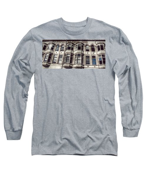 Long Sleeve T-Shirt featuring the photograph Carson Block by Melanie Lankford Photography