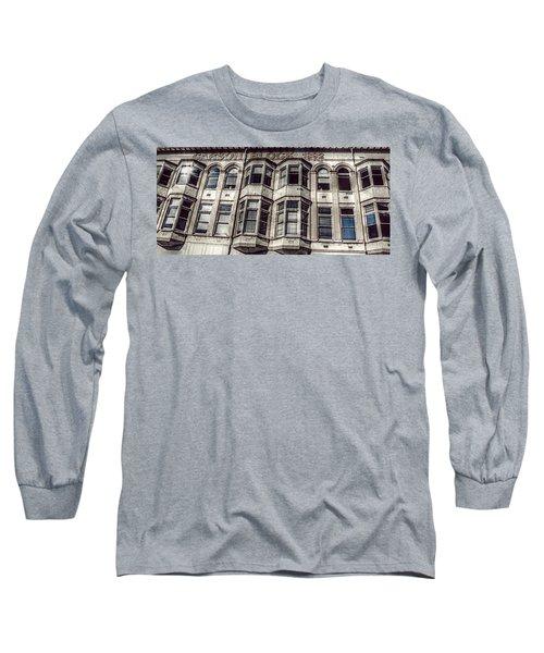 Carson Block Long Sleeve T-Shirt by Melanie Lankford Photography