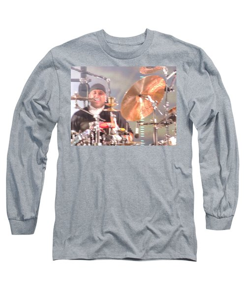 Long Sleeve T-Shirt featuring the photograph Carter Doing What He Does Best by Aaron Martens