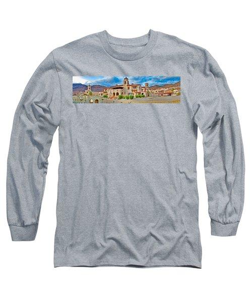 Castle In A Desert, Scottys Castle Long Sleeve T-Shirt