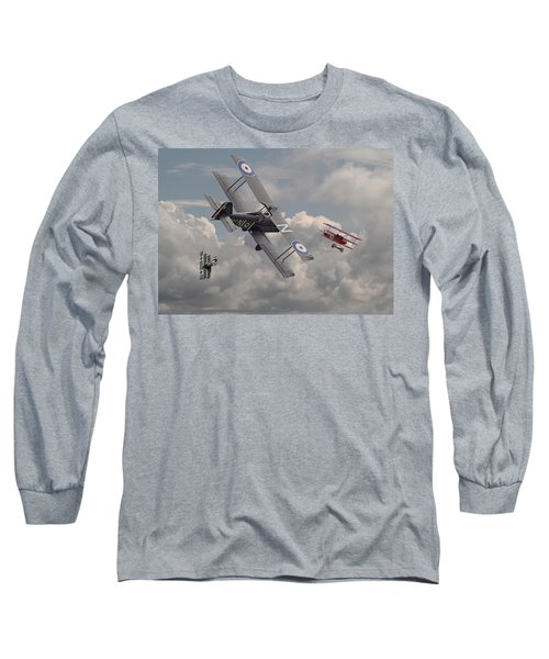 Cat Among The Pigeons Long Sleeve T-Shirt