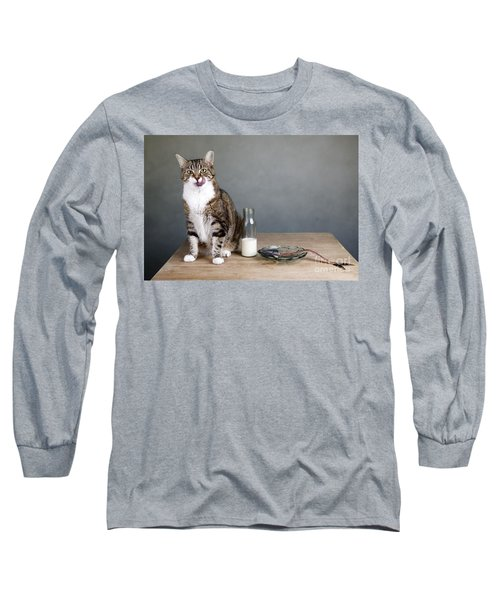 Cat And Herring Long Sleeve T-Shirt