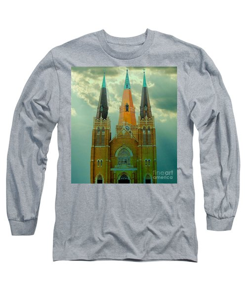 Cathedral Of The Holy Family  Long Sleeve T-Shirt