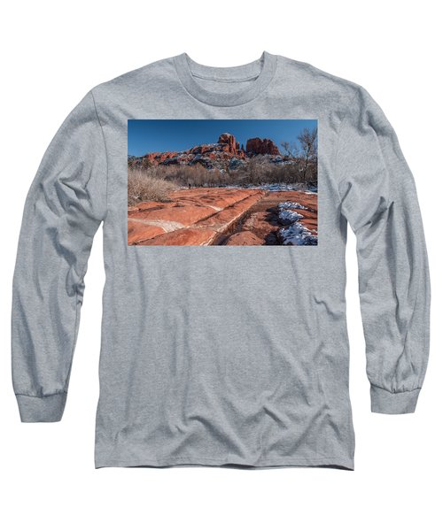 Cathedral Rock Winter Long Sleeve T-Shirt