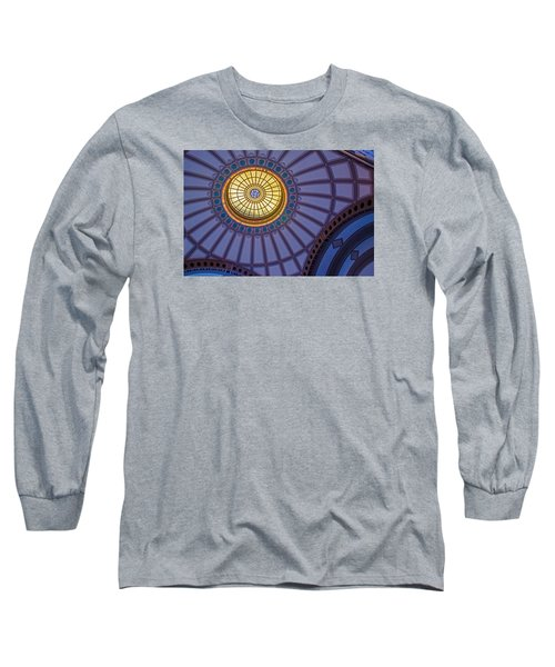 Long Sleeve T-Shirt featuring the photograph Ceiling In The Chattanooga Choo Choo Train Depot by Susan  McMenamin
