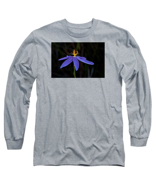 Celestial Lily Long Sleeve T-Shirt by Paul Rebmann