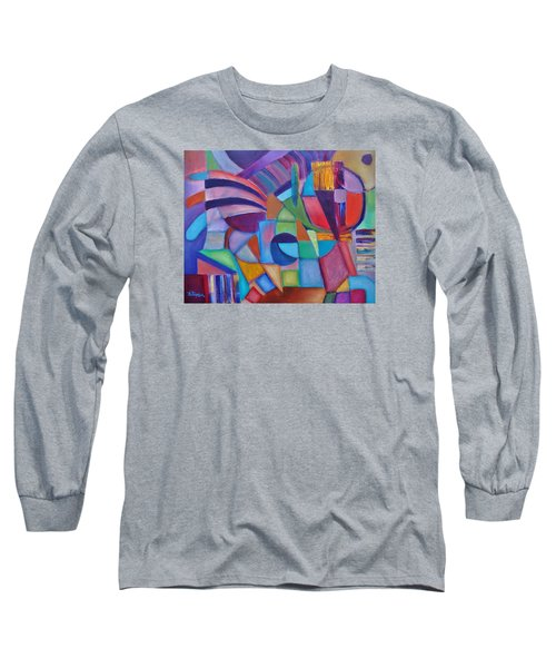 Cerebral Decor # 2 Long Sleeve T-Shirt