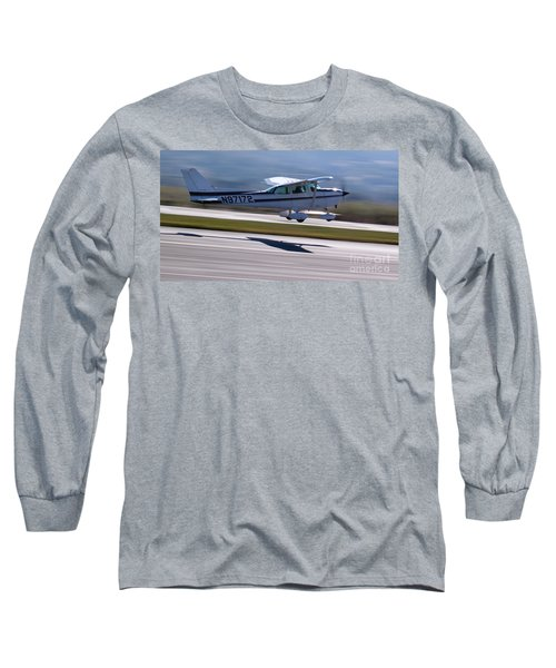 Cessna Takeoff Long Sleeve T-Shirt
