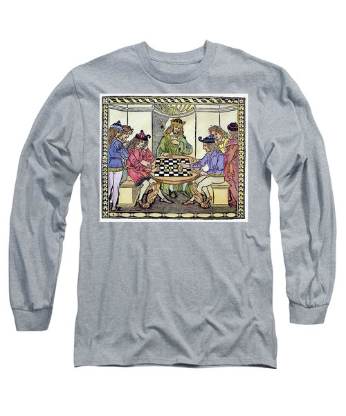 Cessolis Chess, 1493-94 Long Sleeve T-Shirt by Granger