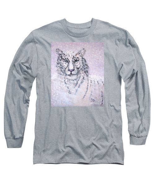 Long Sleeve T-Shirt featuring the painting Chairman Of The Board by Phyllis Kaltenbach